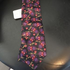 Other - Mens Be My Valentine Tie w Hearts